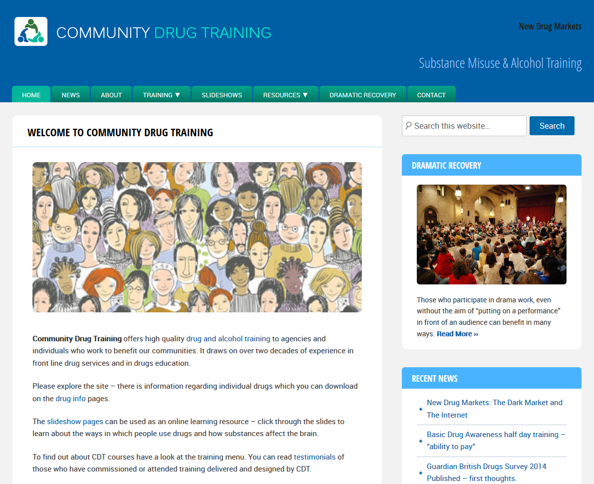 Community-Drug-Training