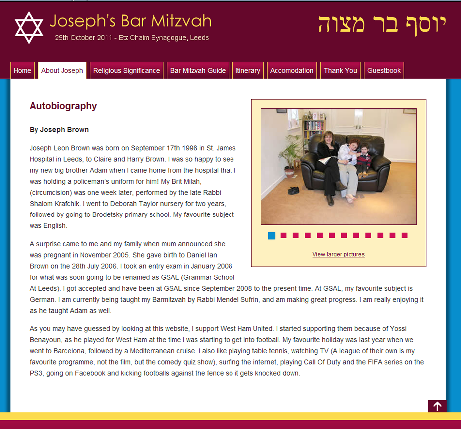 Josephs-Barmitzvah