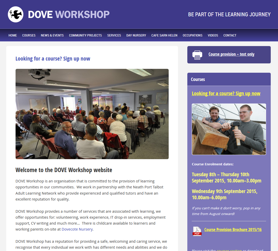 dove-workshop